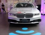 همکاری ب ام و و تنسنت برای توسعه خودروهای خودران