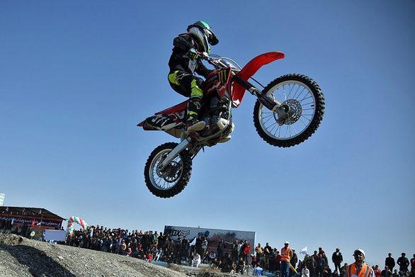 نفرات برتر چهارمین مسابقه موتورکراس قهرمانی کشور