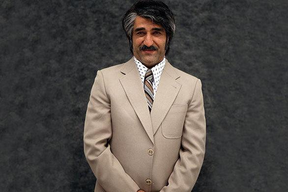 بازیگر و فوتبالیست معروف پرسپولیسی در کنار قلعه نویی + عکس