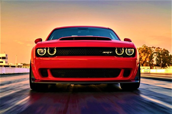 dodge challenger srt demon 2019