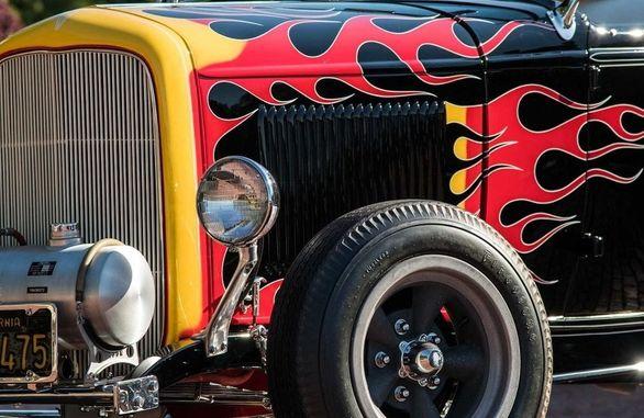 حراج فورد مدل A سال 1932 استثنایی