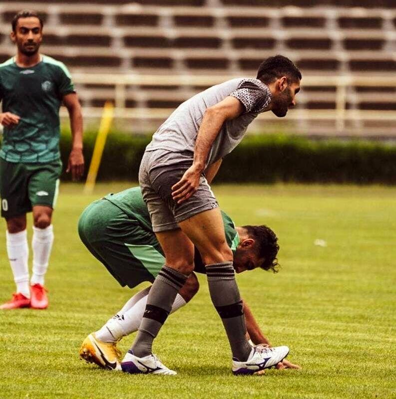 بازگشت محمد انصاری به میادین +عکس