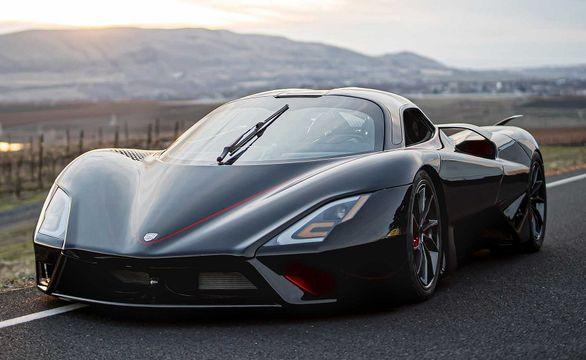 رکورد سریع ترین خودروی دنیا شکسته شد