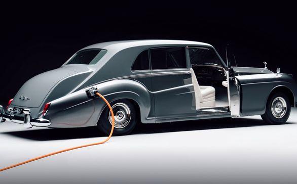 تبدیل رولزرویسهای کلاسیک به خودرو برقی؛