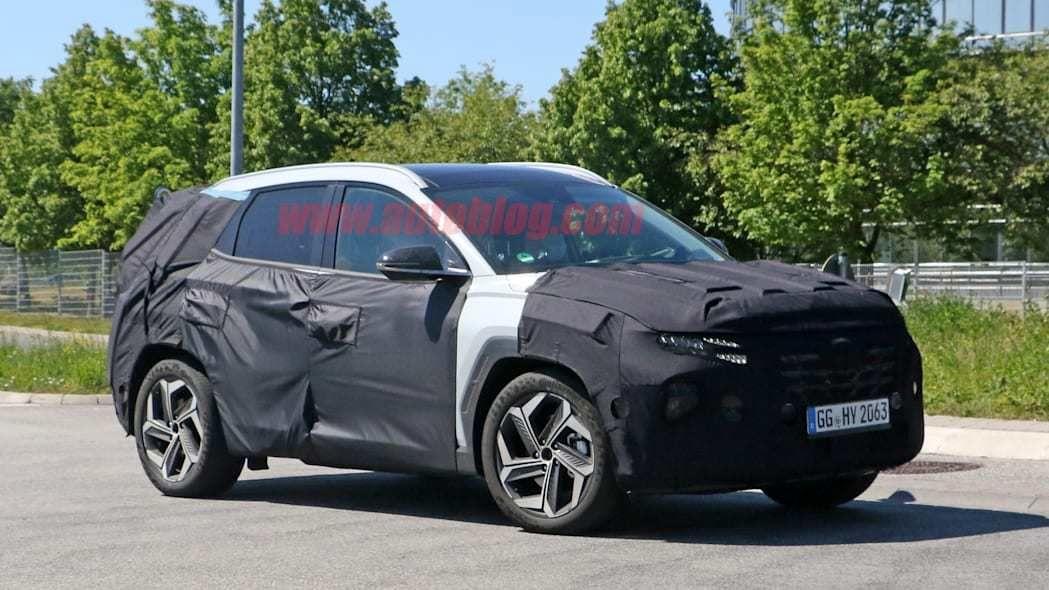 تصاویر جاسوسی فاش شده از نسل جدید Hyundai Tucson