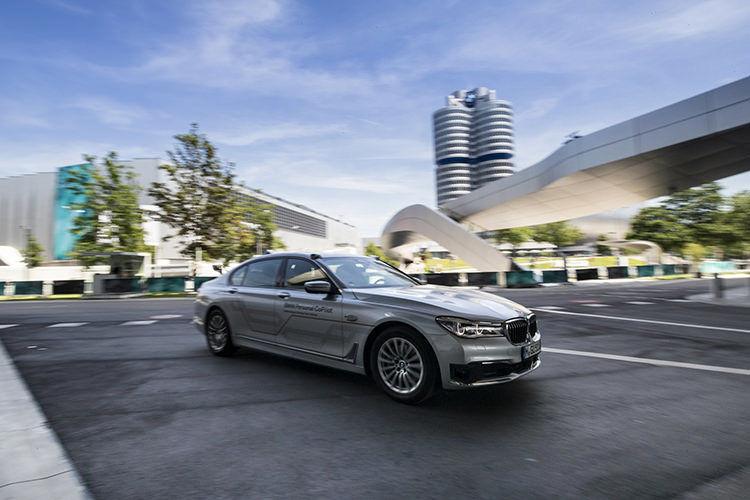 BMW Autonomous car / خودرو خودران بی ام و