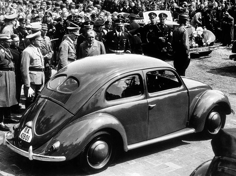 vw beetle Hitler