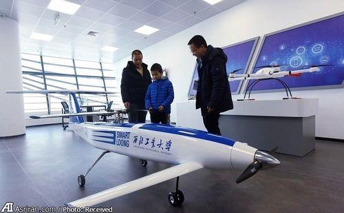 بازدید از پهپاد لجستیکی کوچک با قابلیت پرواز و فرود عمودی که توسط دانشگاه پلی تکنیک (ان پی یو) چین توسعه یافته است.