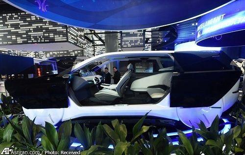نمونه مفهومی از یک خودروی خودران