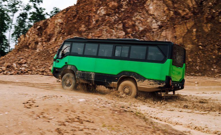 Torsus ؛ اتوبوسی سرسخت برای آفرودبازار
