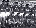 اولین بازی تاریخ فوتبال ایران به روایت تصویر!