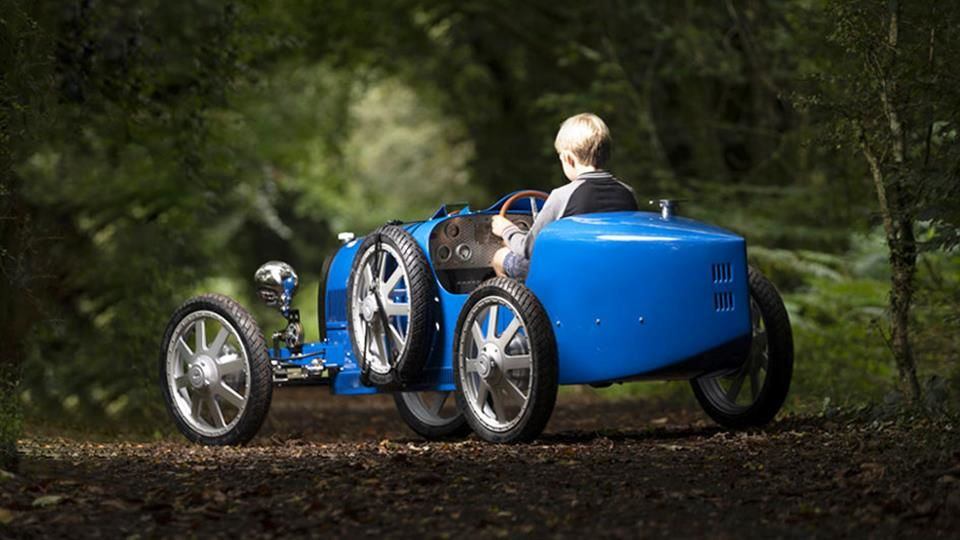 خودروی مخصوص کودکان ساخت بوگاتی