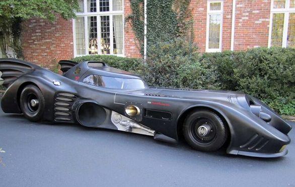 حراج خودروی واقعی بتمن! (تصاویر)