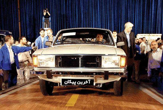 چند خودروی خاطرهانگیز