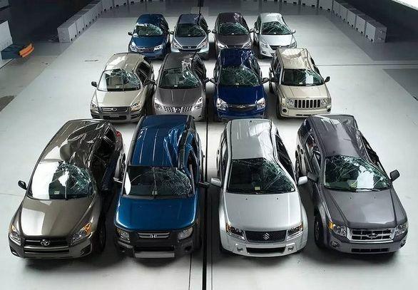 15 خودروی مدل 2020 با بالاترین ضریب ایمنی