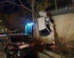 حادثه دلخراش دیشب در خیابان رسالت