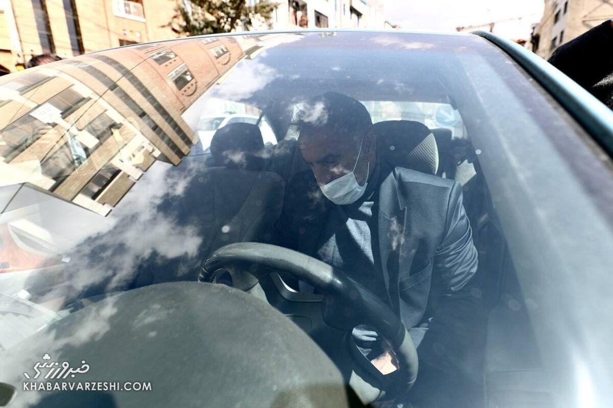 عکس| فریم به فریم از جدایی محمود فکری از استقلال