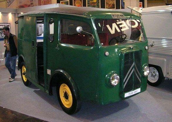 سیتروئن TUB اولین خودروی دنیا با درب کشویی | تصاویر