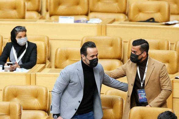 عکس| رفتار عجیب حاج صفی پس از افشای رای جنجالی