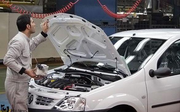 خروج نمایندگان رنو از خطوط تولید خودرو