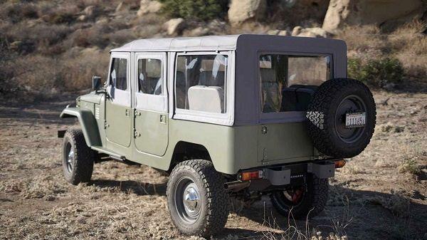 تولید مجدد خودروهای Land Cruiser FJ44 توسط تویوتا