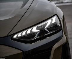 جدیدترین مدل خودرو آئودی ای ترون را ببینید