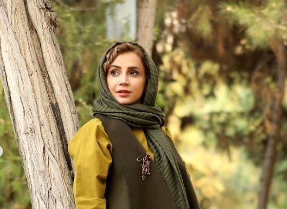 تیپ پاییزی شبنم قلی خانی در طبیعت + عکس