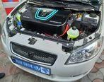با خودروهای برقی جدید ایران خودرو آشنا شوید (تصاویر)