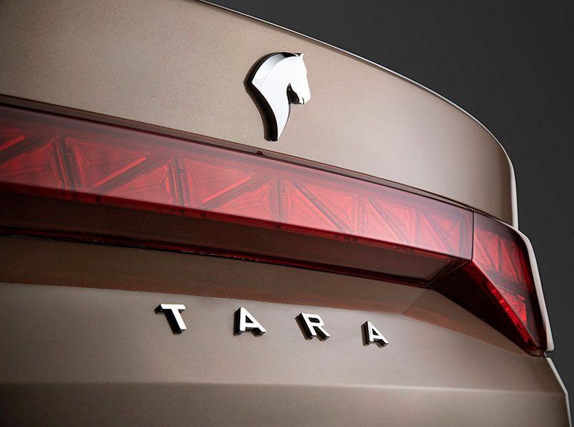 تفاوت ظاهری خودرو تارا اتومات با دنده دستی / تصاویر جدید از خودرو تارا اتوماتیک