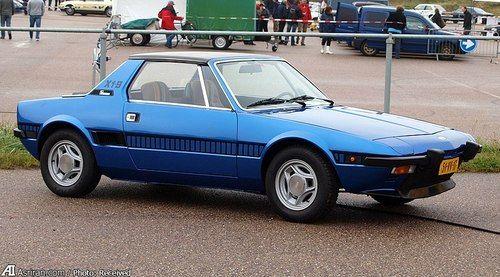 X1/9 مدل 1978