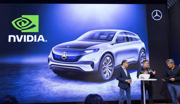همکاری مرسدس بنز و انویدیا برای ساخت خودروی هوشمند