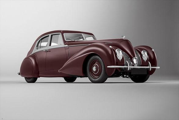 بازسازی خیره کننده بنتلی کورنیش کلاسیک مدل ۱۹۳۹