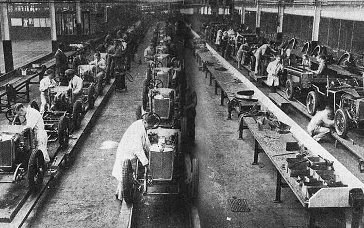 Assembly line production