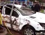 سقوط مرگبار 2 خودرو به داخل گودال در قم (ویدئو)