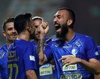 روزبه چشمی و اولین شادی گل کرونایی فوتبال ایران