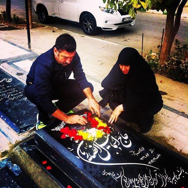 محل دفن علی انصاریان مشخص شد +عکس