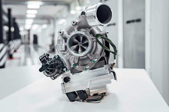 فناوری توربورشاژر برقی برای خودروهای آینده مرسدس بنز