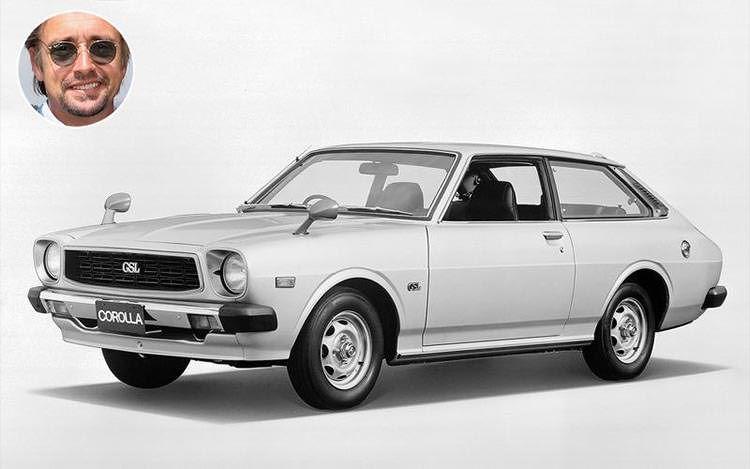Richard Hammond - 1976 Toyota Corolla Liftback