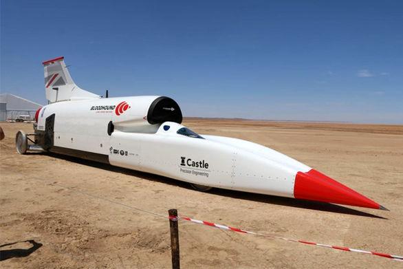 آزمایش سریع تری خودروی دنیا (تصاویر)