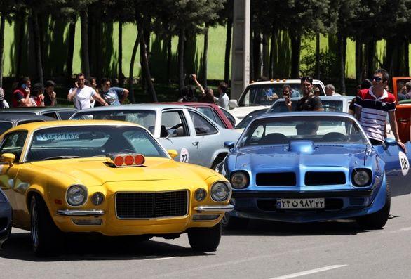 آغاز رالی خودروهای کلاسیک
