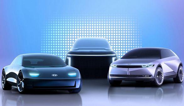 خانواده خودروهای برقی هیوندای در سال 2021