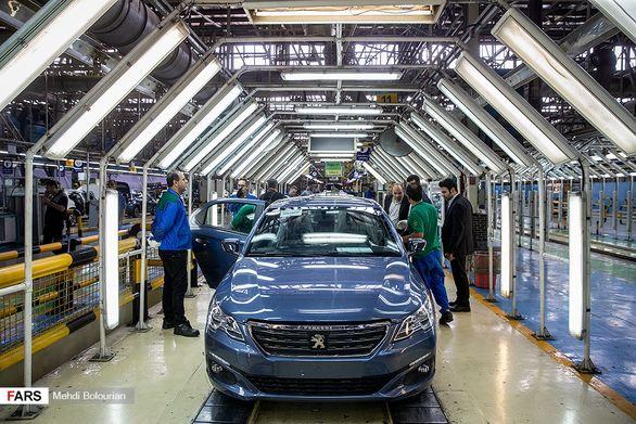 سقوط آزاد تولید خودرو در 5 ماهه ابتدای سال 98