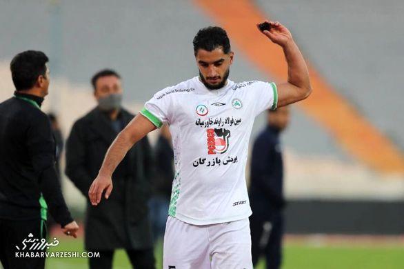 کنایه حسینی به مدافع پرسپولیس / آقای با غیرت باعث شد تیمش 3 امتیاز از دست بدهد