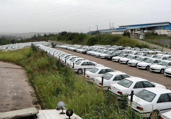 ماجرای دپوی حدود ۳ هزار و ۵۰۰ خودرو در بابل چیست؟ (عکس)