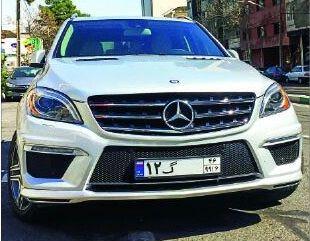 مرسدس بنز «ML۵۰۰»؛جدیدترین خودرو گذرموقت وارداتی+مشخصات فنی