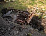 پیدا کردن یک خودرو در باغچه در روزهای قرنطینه