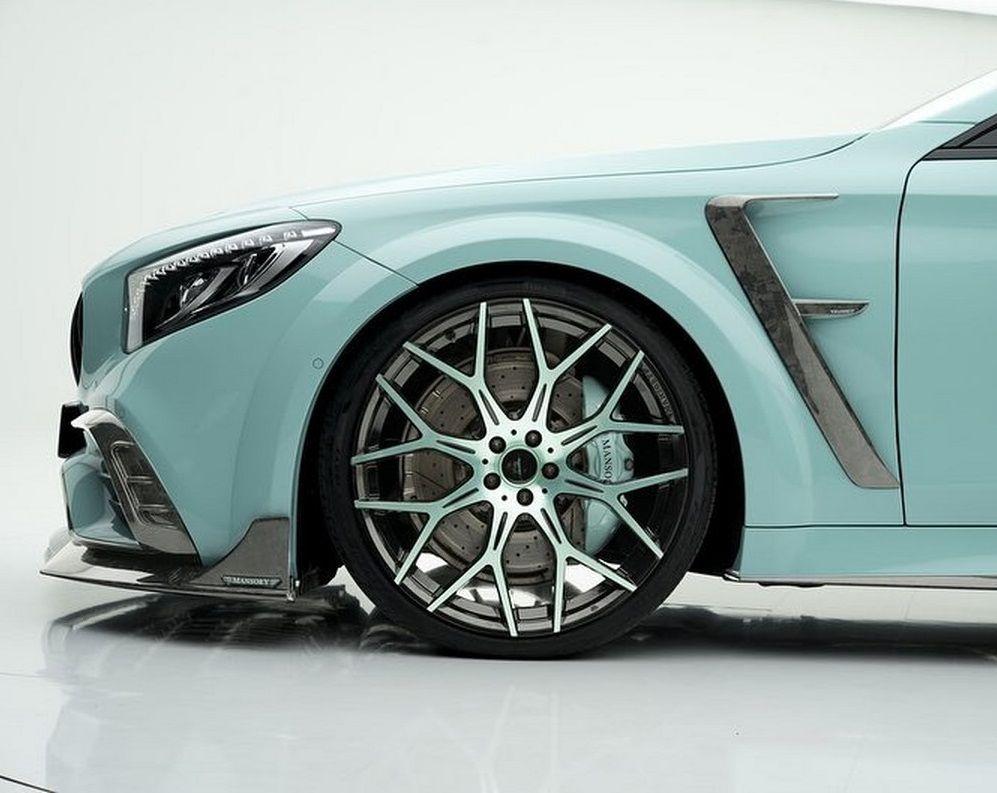 بررسی خودرو مرسدس بنز S63 AMG با تیونینگ منصوری