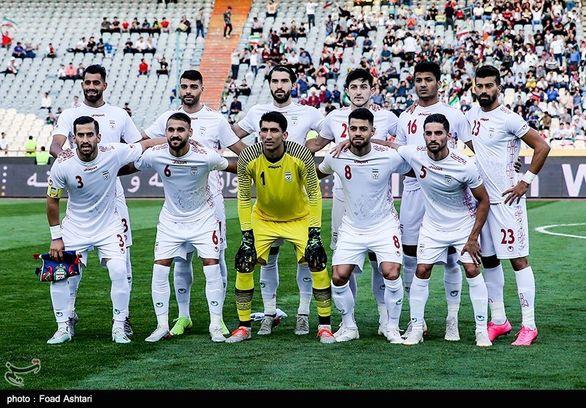 لیست تیم ملی برای بازی مقابل عراق منتشر شد