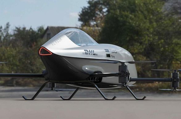 اولین خودروی پرنده مخصوص مسابقه