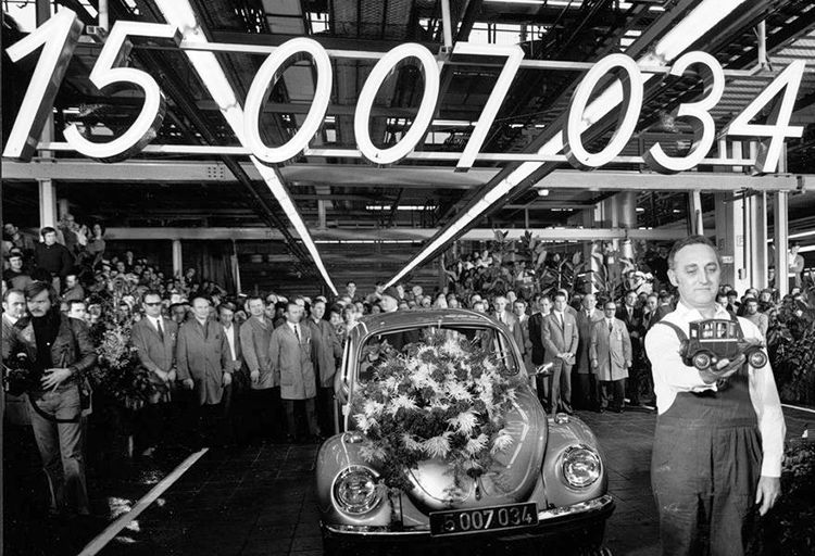 vw beetle factory